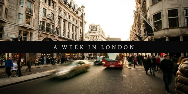 a week in london